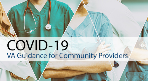 COVID-19 Guidance for Community Providers