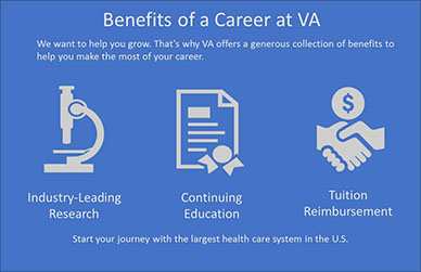 BENEFITS OF A VA CAREER
